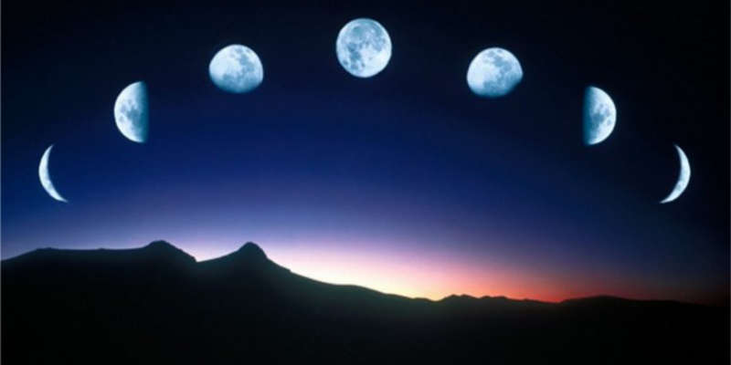 La luna marca unas pautas en la agricultura en sus fases